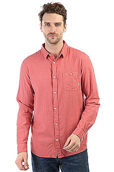 Рубашка Quiksilver Newtimeboxls Mineral Red
