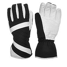 Перчатки сноубордические женские Zanier Alek 100bblack/Br.white