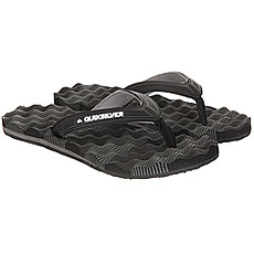Вьетнамки Quiksilver Massage Black/Grey