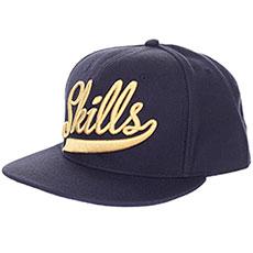 Бейсболка классическая Skills Skills-01 Navy