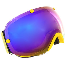 Маска для сноуборда Vizzo Spherix Blue Ionized/Yellow