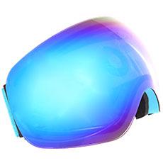 Маска для сноуборда Vizzo Flame Blue Ionized/Blue