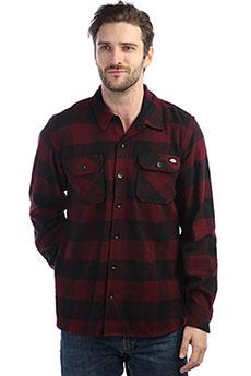 Рубашка в клетку Dickies Sacramento Maroon