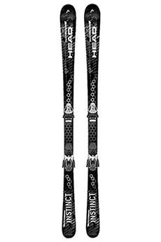 Горные лыжи Head Primal Instinct Pp9 Real Black/White