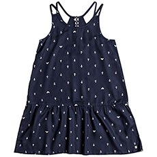 Платье детское Roxy Momentsoftime Dress Blues Watercol