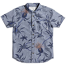 Рубашка детская Quiksilver Shakkamateyth Blue Used Shakka Mat