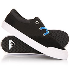 Кеды низкие детские Quiksilver Verant Youth Black/Blue/White