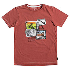 Футболка детская Quiksilver Super Tv Baked Apple Heather