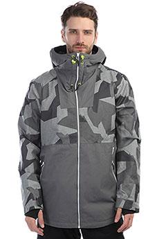 Куртка утепленная Colour Wear Block Jacket Asymmteric Grey