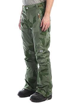 Штаны сноубордические Colour Wear Sharp Pant Asymmetric Loden