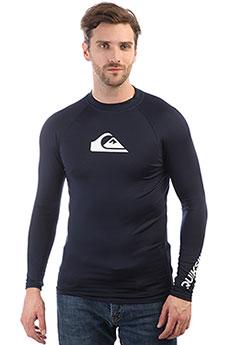Гидрофутболка Quiksilver All Time Long Sleeve Navy Blazer