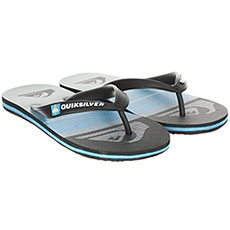 Вьетнамки детские Quiksilver Molohighlinslyt Black/Blue/Grey