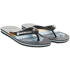 Вьетнамки детские Quiksilver Molohighlinslyt Black/Grey/Blue