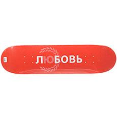 Дека для скейтборда Юнион Love Red 31.75 x 8 (20.3 см)