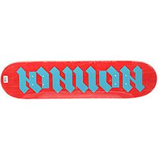 Дека для скейтборда Юнион Gothic Red/Blue 7.5 (19.1 см)