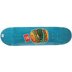 Дека для скейтборда Юнион Grenade Burger Blue 32.5 x 8.5 (21.6 см)