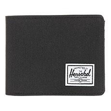 Кошелек Herschel Roy + Coin Rfid Black