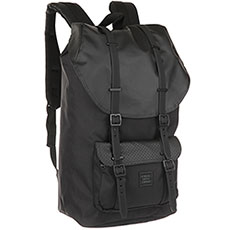 Рюкзак Herschel Little America Black/Black Rubber