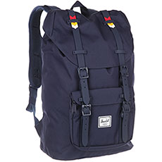Рюкзак Herschel Little America Mid-volume Peacoat/Rainbow Chevron Rubber