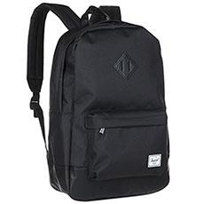 Рюкзак городской Herschel Heritage Black/Black Synthetic Leather