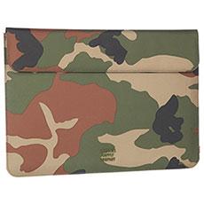 Чехол для ноутбука Herschel Spokane Sleeve For Macbook Woodland Camo