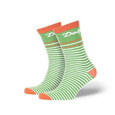 Носки средние Запорожец Добро Зеленые/Белые