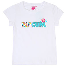 Футболка детская Rip Curl Mama Candy Tee White