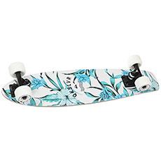 Скейт мини круизер Quiksilver White Jungle White 6.5 x 26 (66 см)