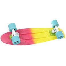 Скейт мини круизер Quiksilver San Francisco Pop Pink 6 x 22.5 (57 см)
