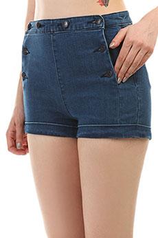 Шорты джинсовые женские Roxy Nauticalanchor Indigo Wash