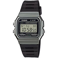 Электронные часы Casio Collection f-91wm-1b Black