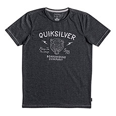 Футболка детская Quiksilver Oldcatvibes Charcoal Heather