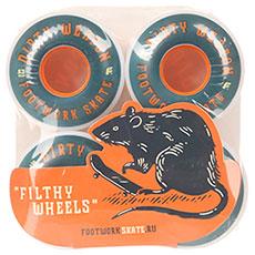 Колеса для скейтборда Footwork Dirty White/Navy 85A 53 mm