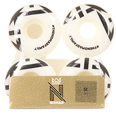 Колеса для скейтборда Nomad Crown Logo Black 102A 51 mm