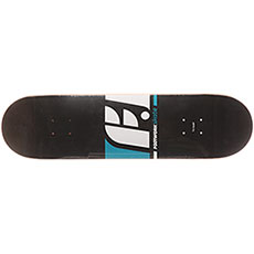 Дека для скейтборда Footwork Classic Logo Black/White 31.625 x 8.125 (20.6 см)