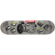 Дека для скейтборда Footwork Carbon Tushev 1000 Grey 31.75 x 8.25 (21 см)