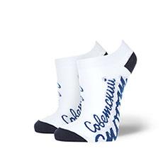 Носки низкие женские Запорожец Х Советские Спорт Белые/Темно-синие