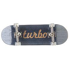 Фингерборд Turbo-FB П10 Гравировка Blue/Silver/Clear