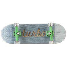 Фингерборд Turbo-FB П10 Гравировка Light Blue/Green/Clear