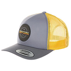 Бейсболка с сеткой Rip Curl Labelled Trucker Cap Flint Gray