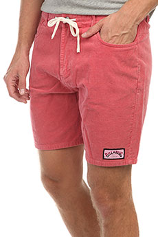 Шорты Billabong The Cord Short Washed Red