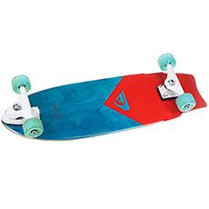 Скейт круизер Quiksilver New Wave St Red 9 x 28 (71 см)