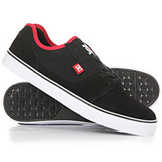 Кеды низкие DC Tonik Black/Athletic Red/B