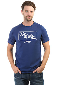 Футболка Запорожец Skateboard Twlight Blue