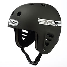 Шлем для скейтборда Pro-Tec Full Cut Skate Matte Black