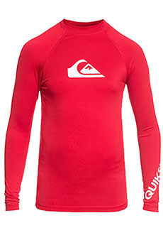 Гидрофутболка детская Quiksilver All Time Ls Quik Red
