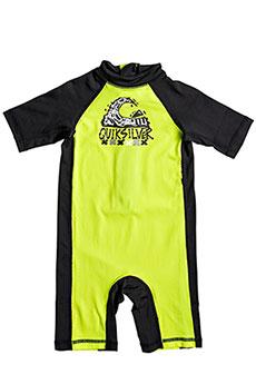 Гидрокостюм (Комбинезон) детский Quiksilver Bubblespringkid Safety Yellow/Black