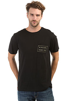 Футболка Rip Curl Surfco Pocket Tee Black