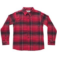 Рубашка в клетку детская Billabong Coastline Flannel Rеd