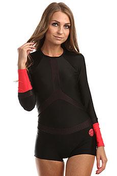 Купальник женский Rip Curl L/Sl Boyleg Uv Surfsuit Black/Red